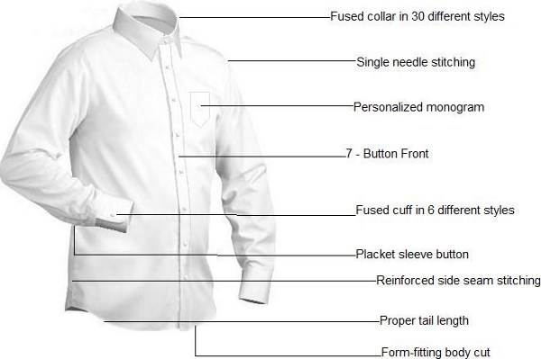 New Creations Custom Tailors - CUSTOM-made Shirts